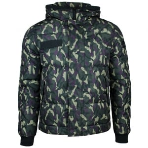 True Religion Camouflage Jacket in Green