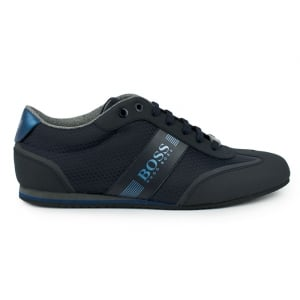 Boss Green Lighter_Lowp Trainers in Dark Blue