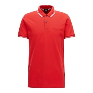 Parlay 16 Polo Shirt in Red