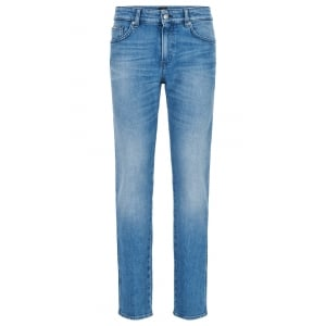 "Delaware3-5 30"" Short Leg Jeans in Light Wash"