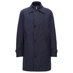 Boss Black Danko Coat in Navy