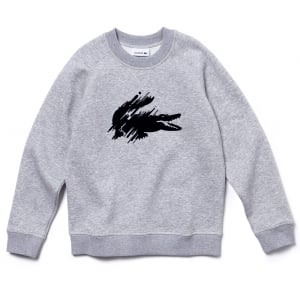 Lacoste Kids Sweatshirt in Grey