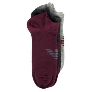 Slip On Socks in Grey