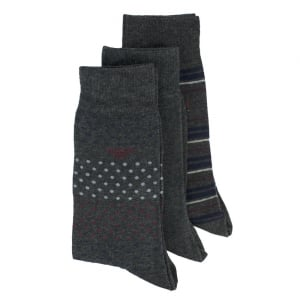 Sock Set in Dark Grey