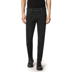 "Diesel Tepphar 30"" Short Leg Jeans in Black"