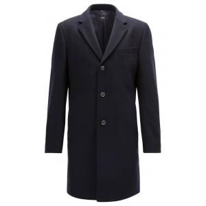 Nye1 Coat in Dark Blue