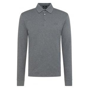 Phillian Polo Shirt in Grey