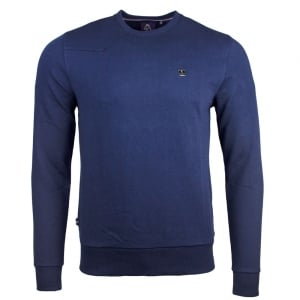 Glass Box Sweatshirt in Navy