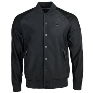 Jezz Button Jacket in Black