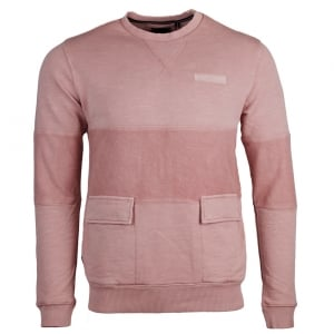 Black Ins Sweatshirt in Pink