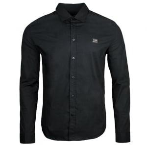 Love Moschino Crest Logo Shirt in Black