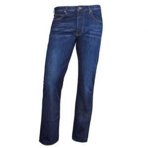 Armani Jeans J21 Short Leg Jeans in Dark Wash