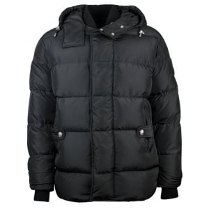 Versus Versace Puffer Coat in Black