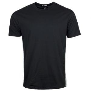 Versus Versace Panel T-Shirt in Black