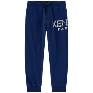 8-12 Years Logo Jogging Bottoms in Navy