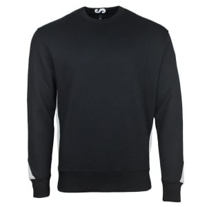 Versus Versace Panel Sweatshirt in Black