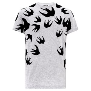 Swallow T-Shirt in Grey