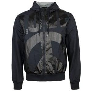 Love Moschino Torso Logo Jacket in Black