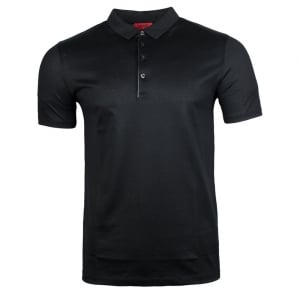 Diracle Polo Top in Black
