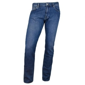 Boss Black Maine 3 Long Leg Jeans in Medium Wash