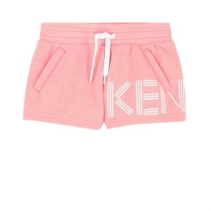 8-12 Years Logo Shorts in Pink