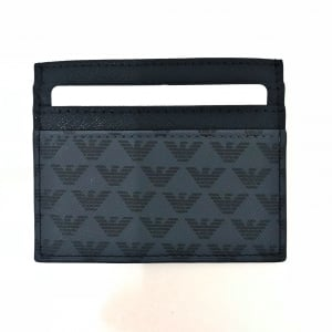 Emporio Armani Grey Panel Cardholder