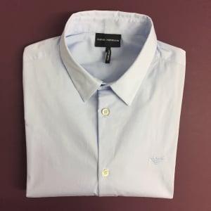 Emporio Armani Core Shirt in Sky Blue