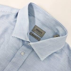 Collezioni Stripe Shirt in Baby Blue