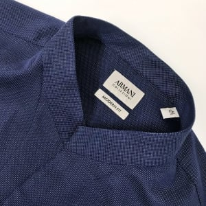 Collezioni Dotted Shirt in Navy