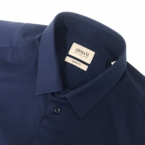 Collezioni Woven Shirt in Navy
