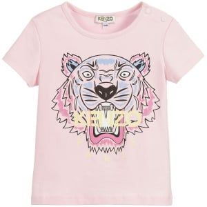 3-18 Months Baby Tiger Tee in Pink