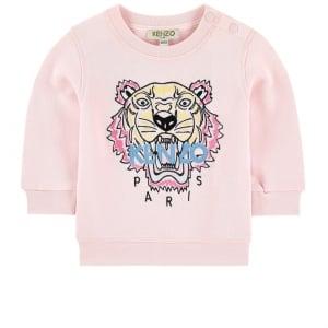 3-18 Months Baby Sweatshirt in Pink