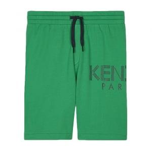 8-12 Years Bermuda Shorts in Green