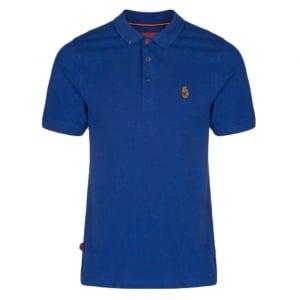 Luke Kids 2-6 Years Robbie W Polo Top in Blue