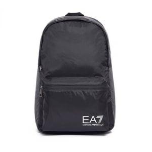 Ea7 Backpack Bag in Black
