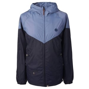 Pretty Green Contrast Jacket in Blue