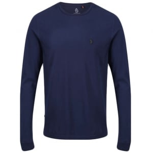 Long Sleeve T-Shirt in Navy