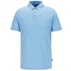 Press 27 Polo Shirt in Light Blue