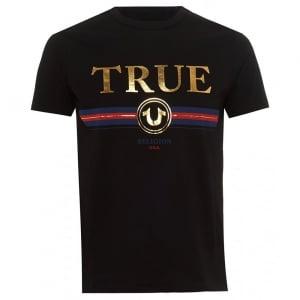 True Religion Trucci T-Shirt in Black