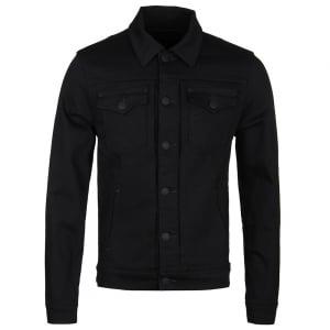 True Religion Dylan Denim Jacket in Black
