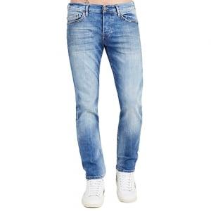 "True Religion Rocco 32"" Regular Leg Jeans in Light Wash"