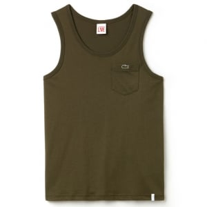 Lacoste Live Pocket Tank Top in Green