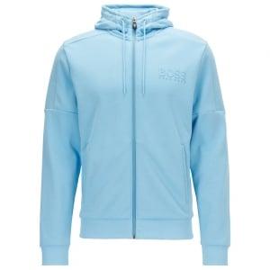 Saggy Sweatshirt in Open Blue