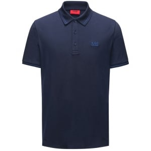 Daruso Polo Top in Navy