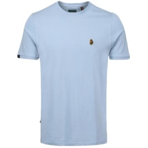 Traff T-Shirt in Sky Blue