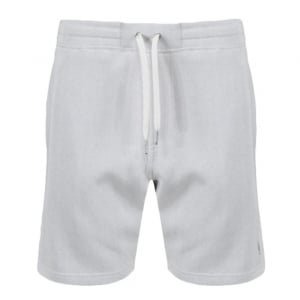 Ribbed Shorts in Light Grey