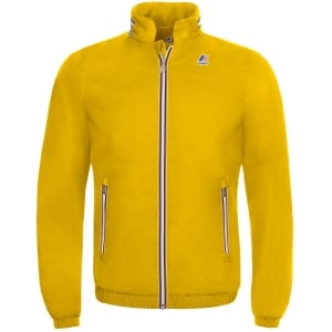K-way Philippe Jacket in Yellow