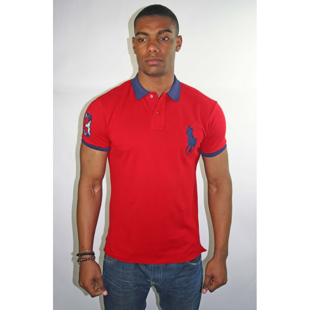 Polo ralph lauren rugby polo for Big and tall polo rugby shirts