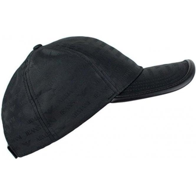 Armani Jeans Armani Logo Cap in Black b781b2e4d63