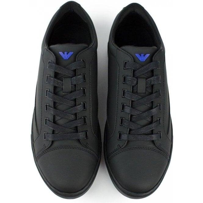 all black armani trainers - 58% OFF